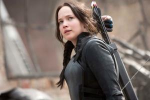 Katniss in Mockingjay for NYTimes
