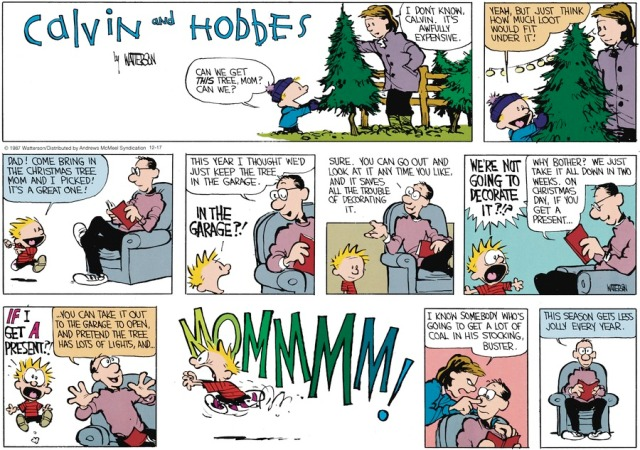 Calvin and Christmas