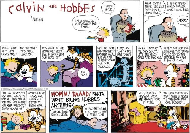 Calvin's Present