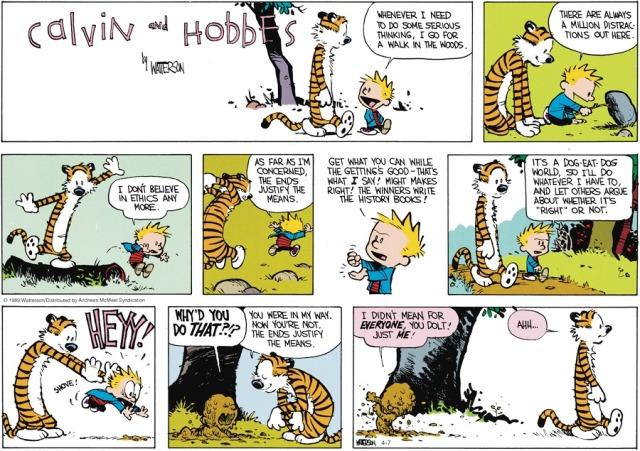 Calvin' Ethical Egoism