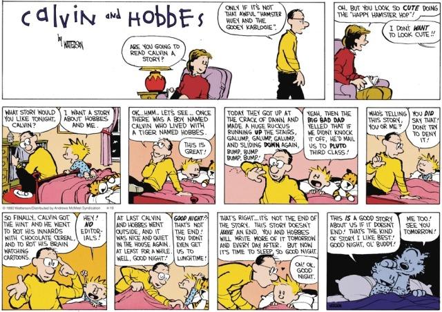 Calvin's Story