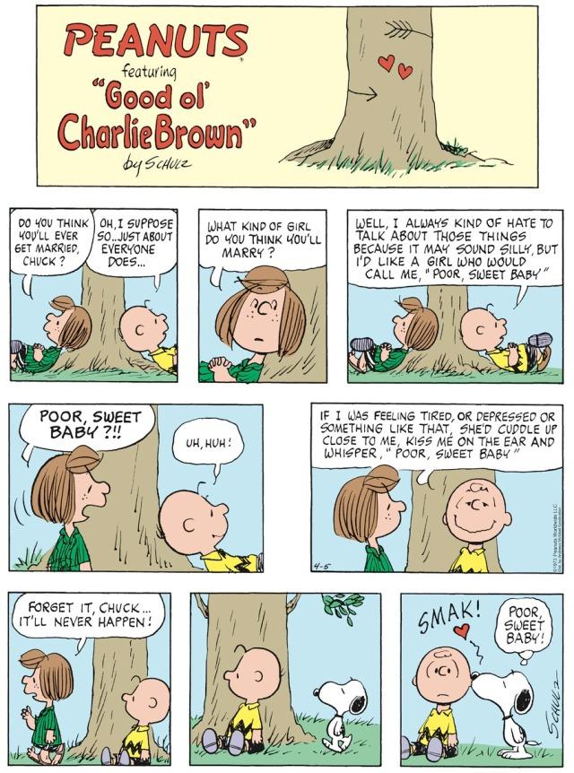 Charlie Brown Poor Sweet Baby