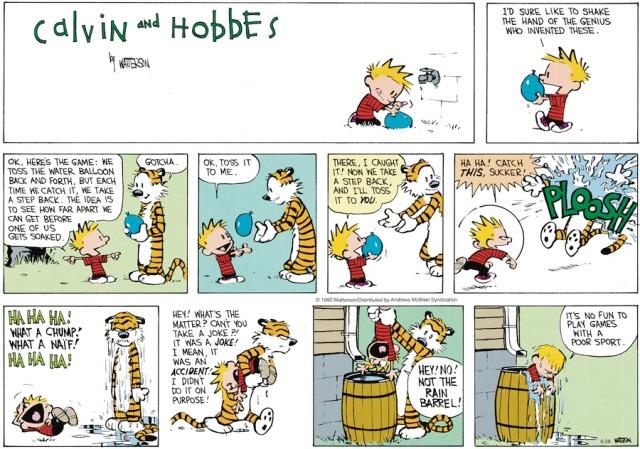 Calvin Poor Sport
