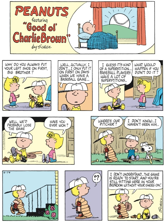 Peanuts Superstition