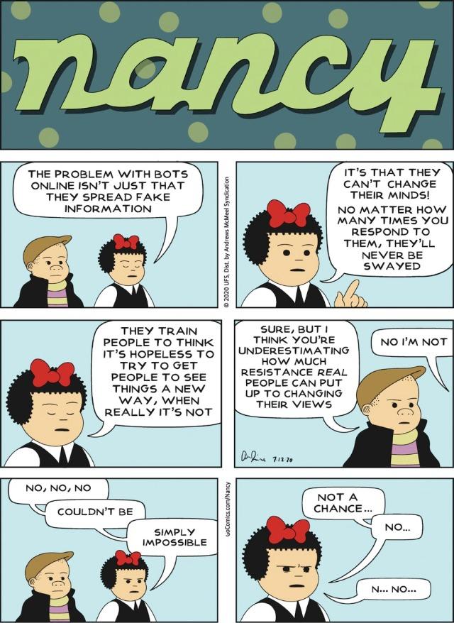 Nancy's Changed Mind