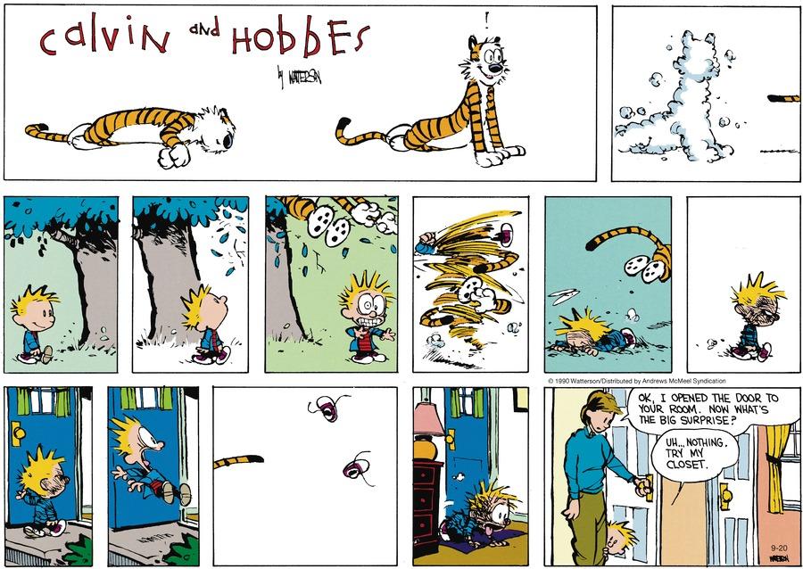 Calvin Open Door