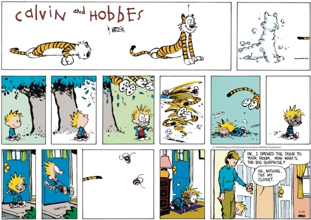 Calvin Open Door