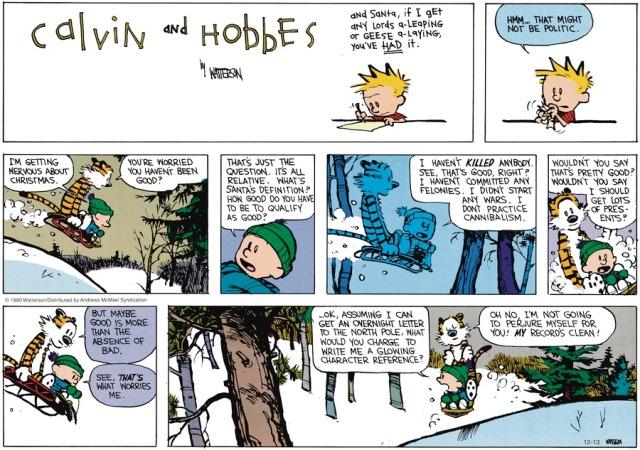 Calvin More than an Absence