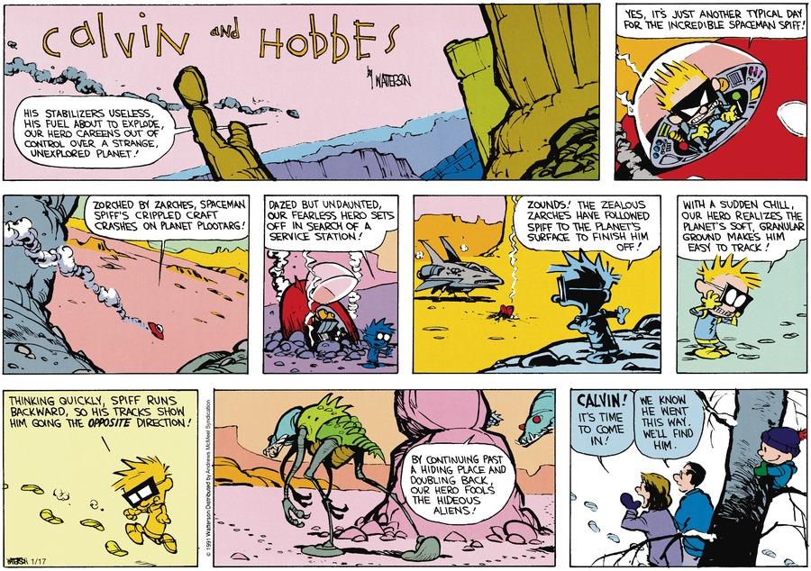 Calvin Climbing
