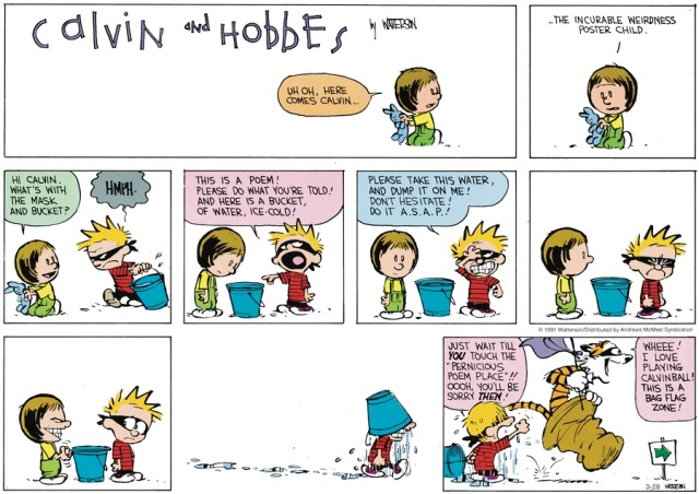 Calvin and Poetry