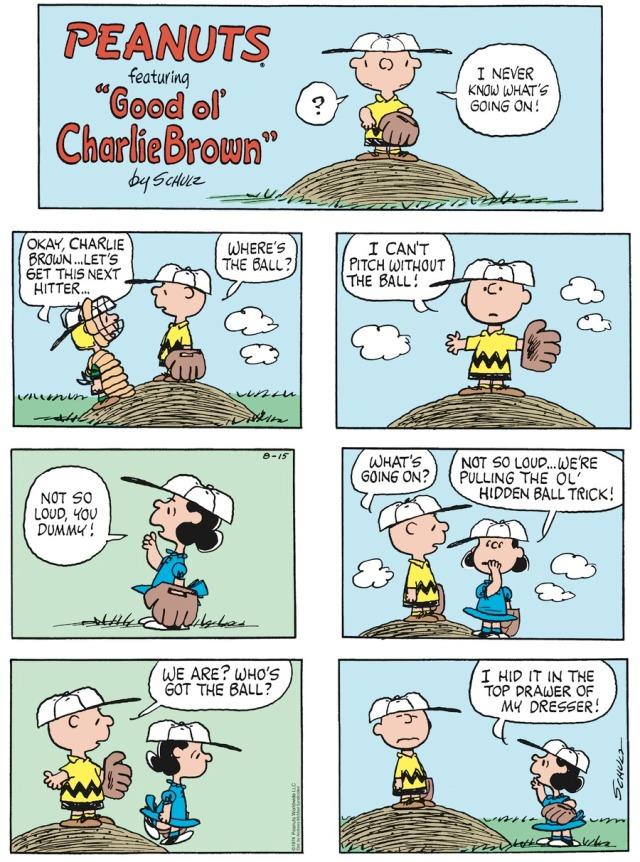 Peanuts Ball Lost